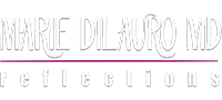 Marie DiLauro MD-logo on phone