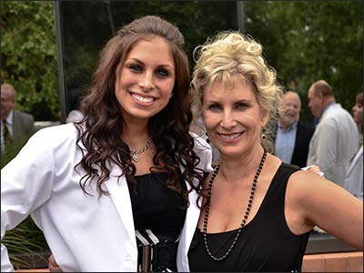 Dr Marie with daughter Dr Jamie Hall